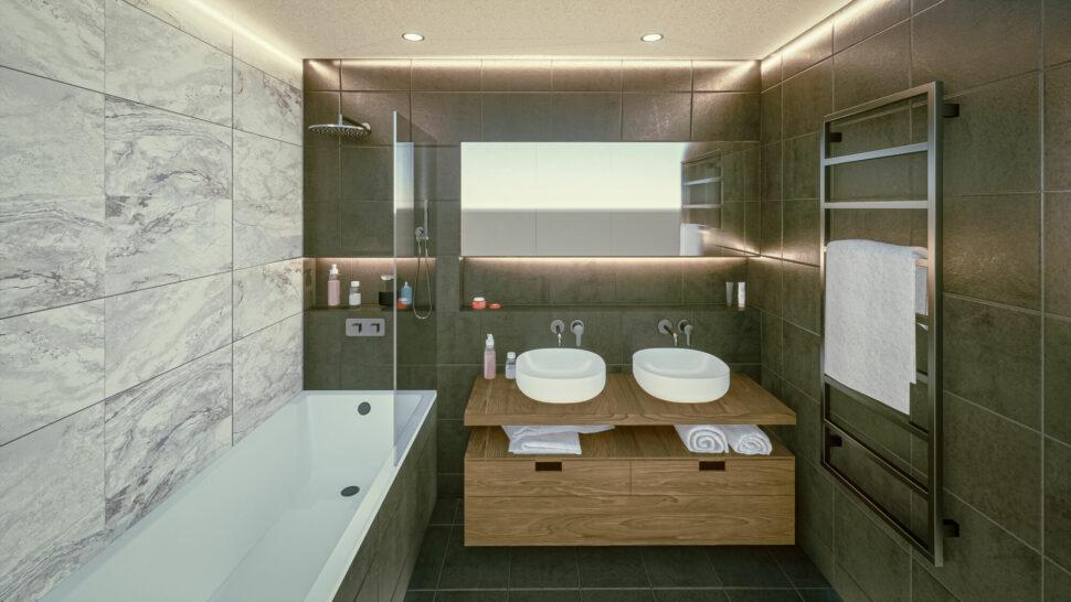Interiér koupelny